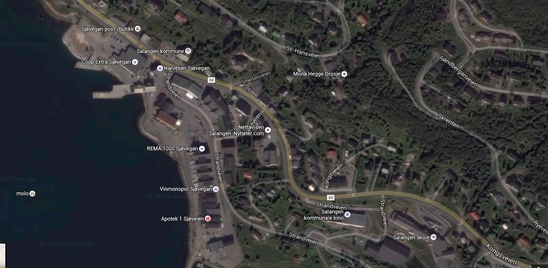 Startområde Sjøvegan Astafjordrittet