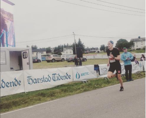 Vinner HarstadTidende løpet 2016 - Eirik Solvang, Innstrandens IL