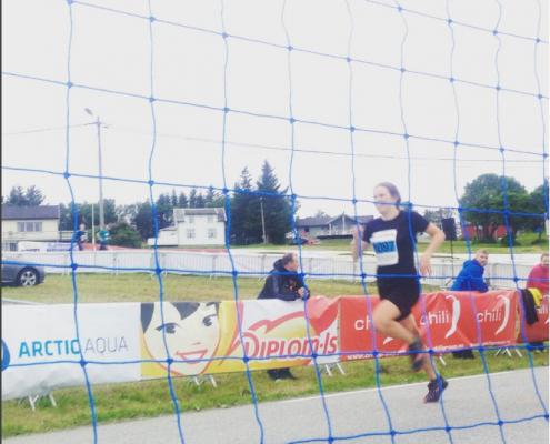 Maja Majbäck var raskeste kvinne i 2016 i #harstadtidendeløpet