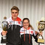 Vinnere TC 2016 Eirik Solvang og Anna Svendsen. Foto: Team Veidekke